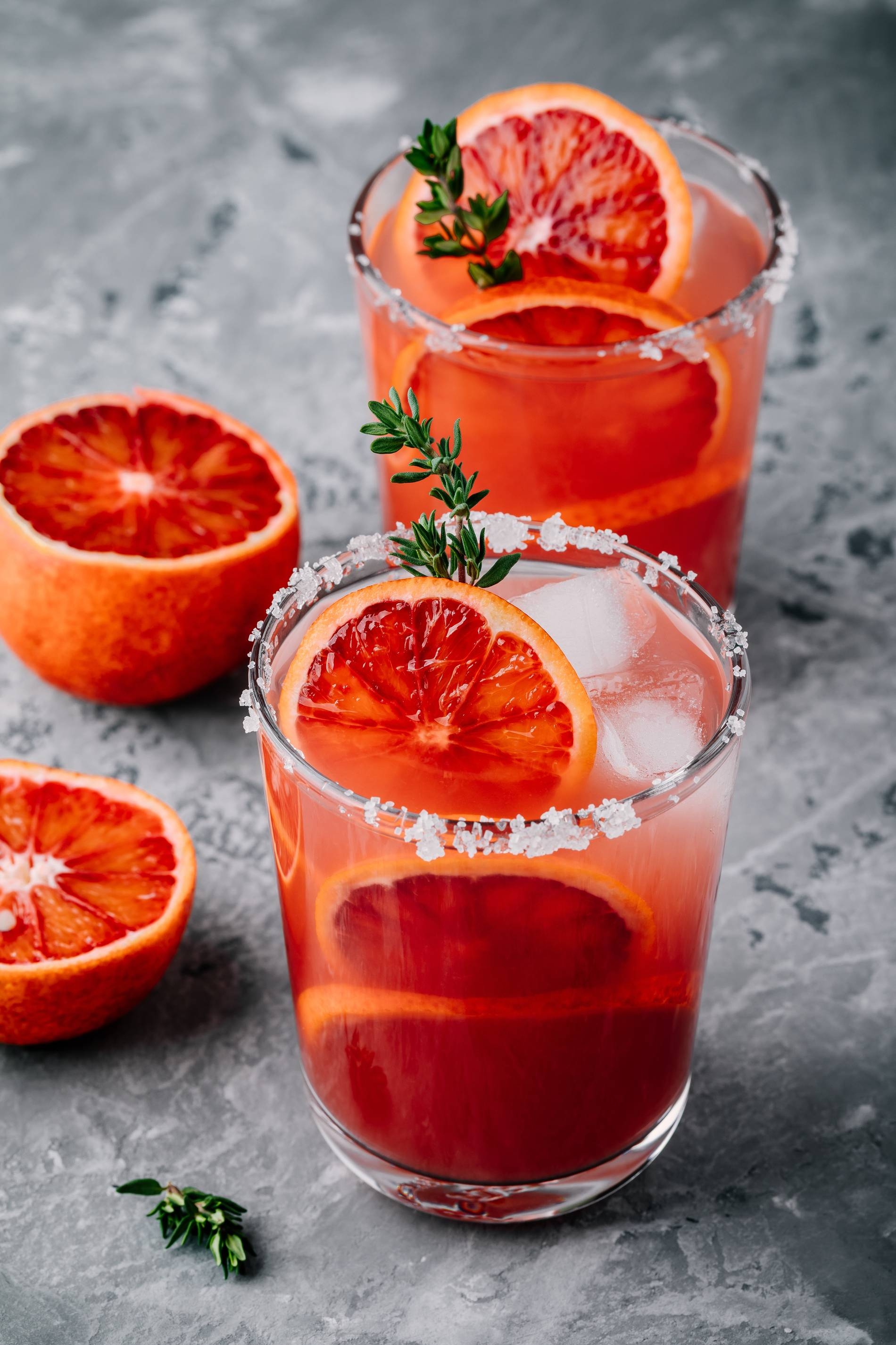 Blood Orange Margarita by Andrea Correale