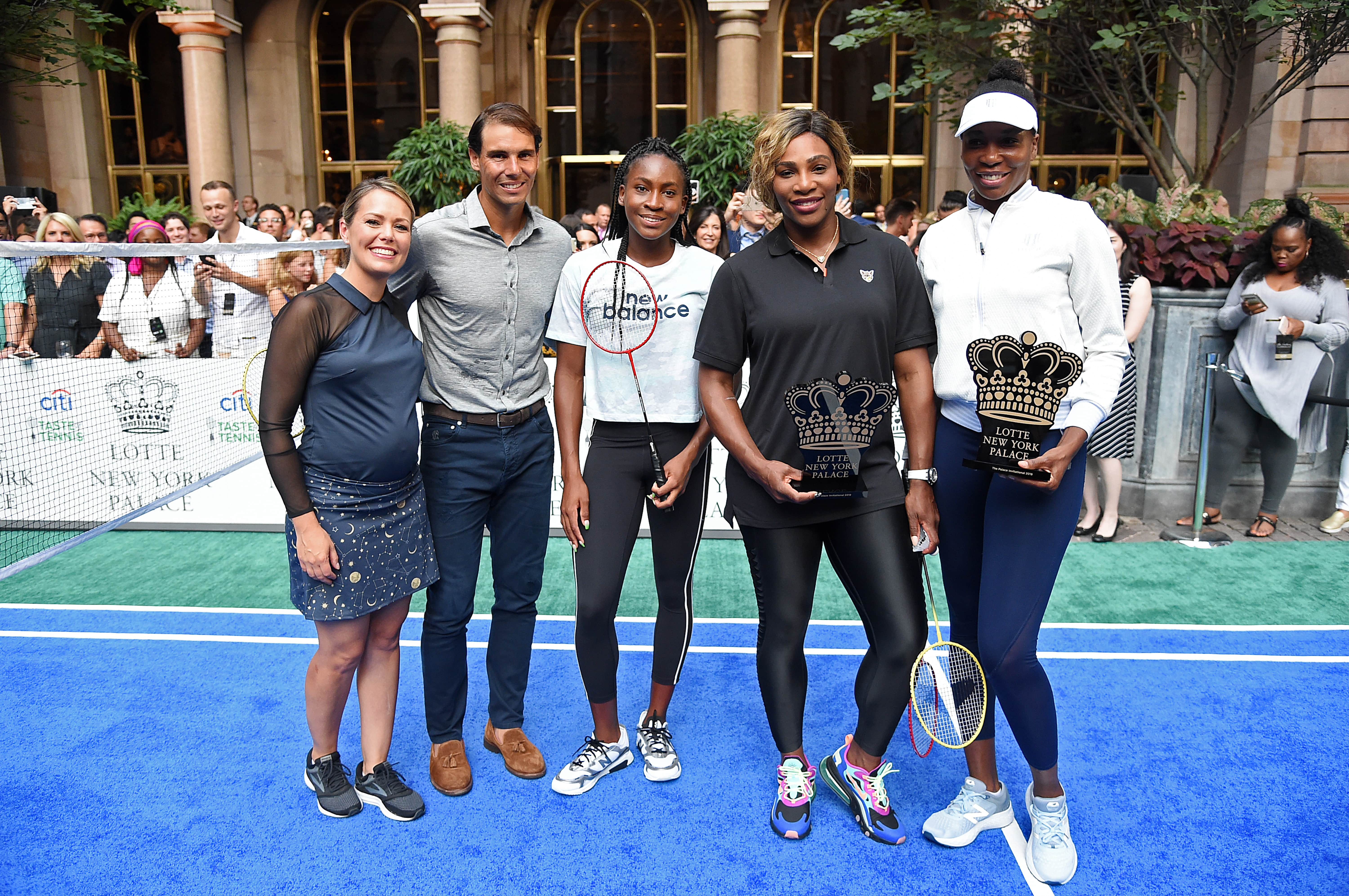 Dylan_Dreyer,_Rafael_Nadal,_Cori_Coco_Gauff,_Serena_Williams_and_Venus_Williams_at_Lotte_New_York_Palace