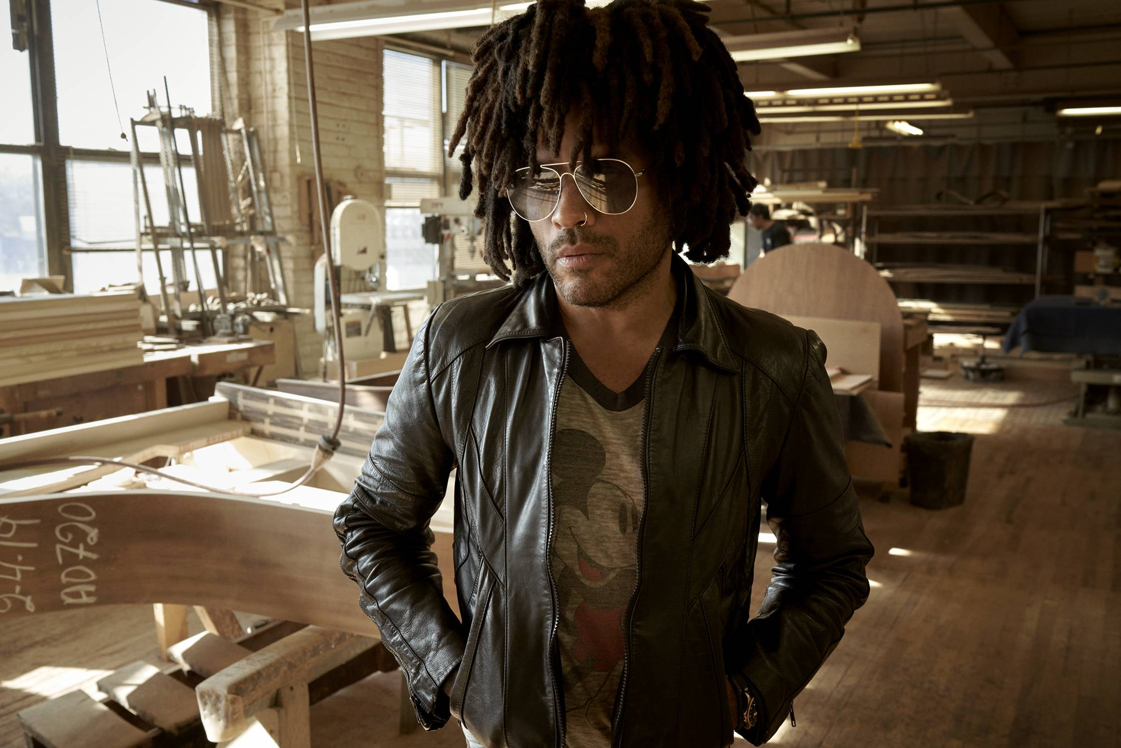 Lenny Kravitz's Steinway Piano collaboration