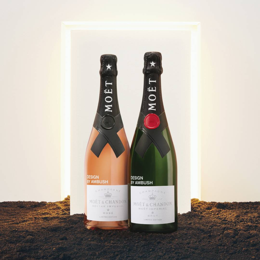 moet & chandon ambush collaboration