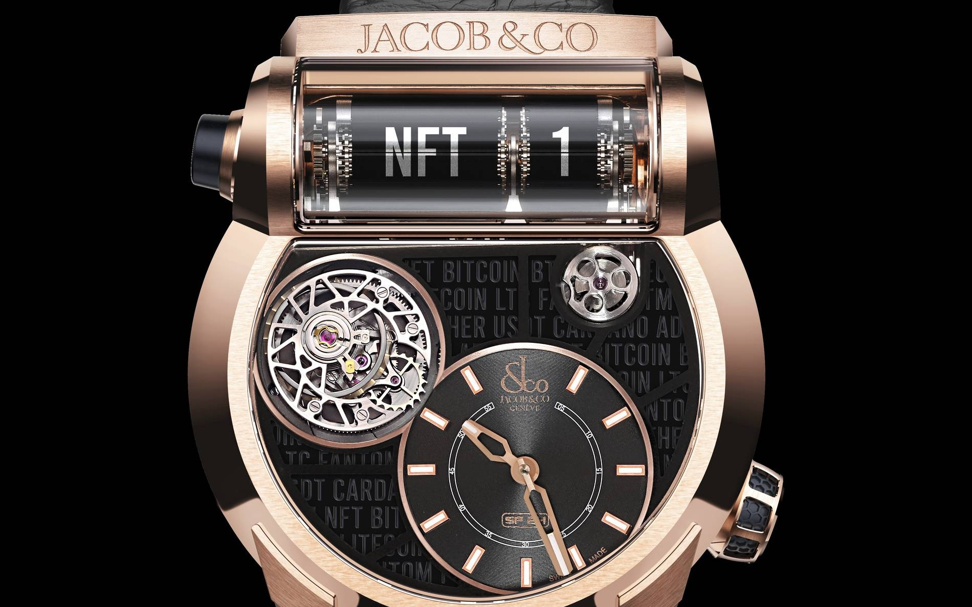 Jacob & Co. SF24 NFT watch