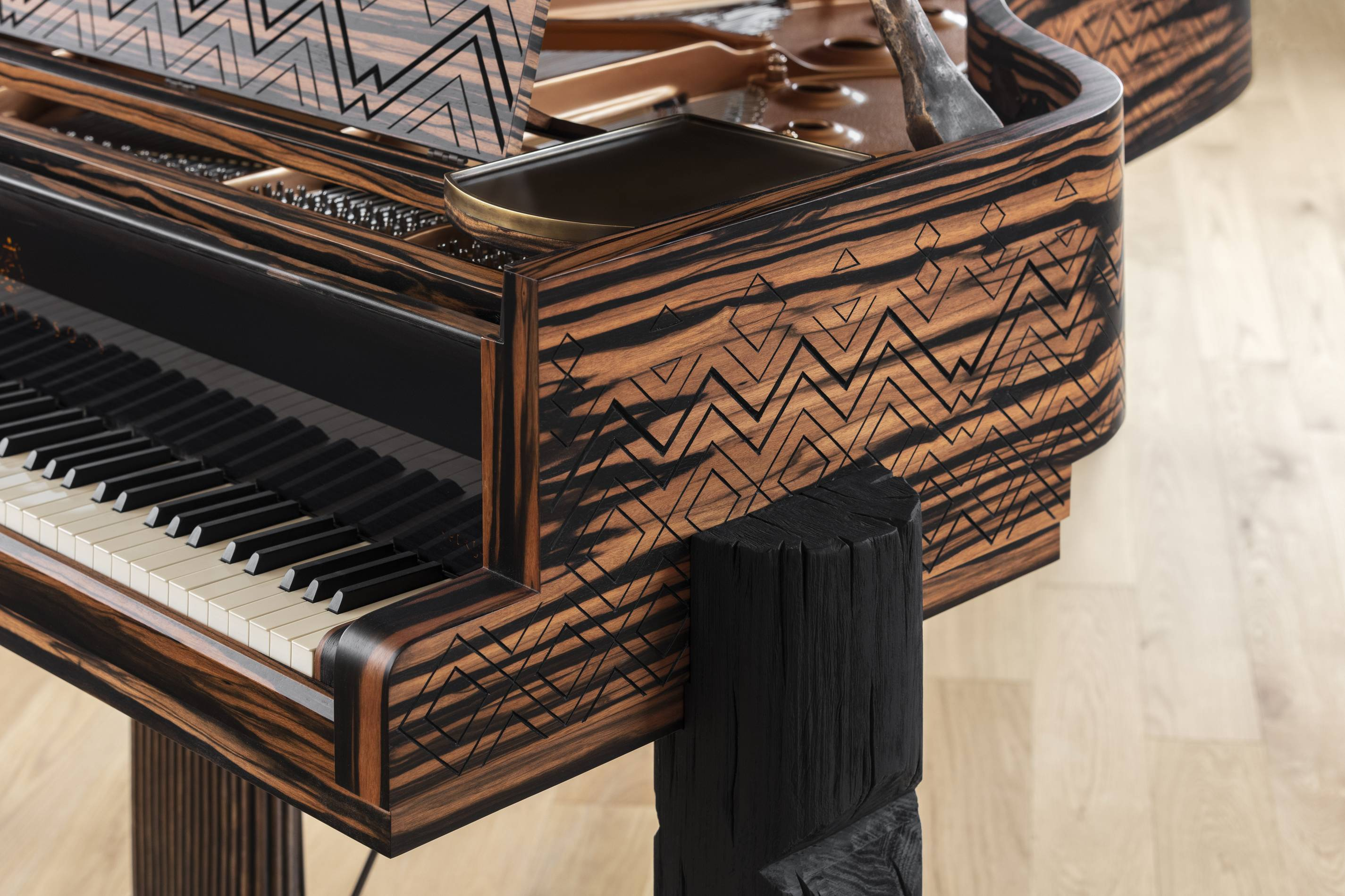 Lenny Kravit's Steinway Piano collaboration