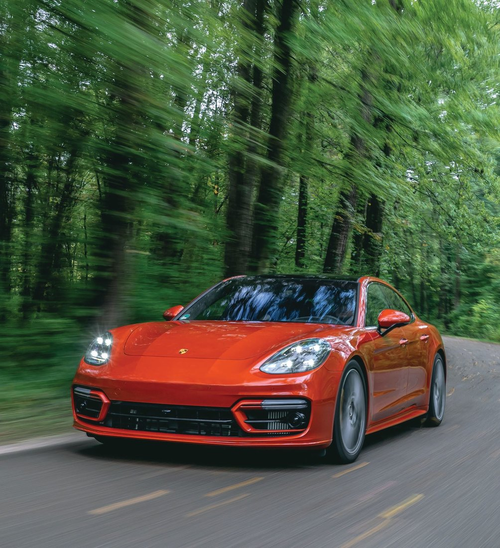 Porsche's new Panamera Turbo S is ready for the road. PHOTO COURTESY OF PORSCHE
