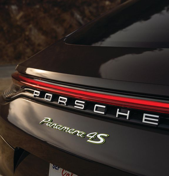 Taillights are connected by a new continuous light strip. PHOTO COURTESY OF PORSCHE