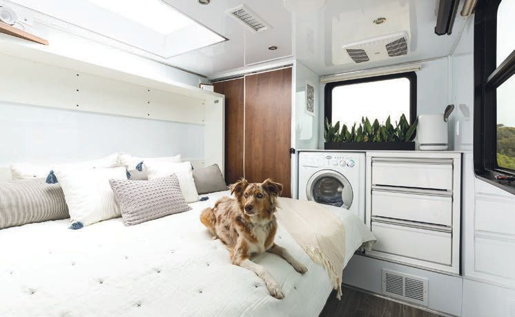 The Living Vehicle puts a premium on comfort  PHOTO COURTESY OF BRANDS