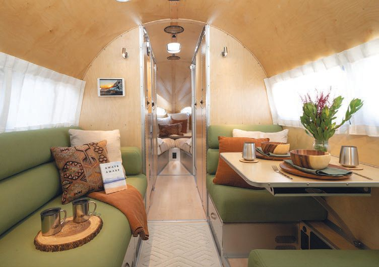The Bowlus Road Chief Endless Highways Edition boasts inviting interiors and premium finishes  PHOTO COURTESY OF BRANDS