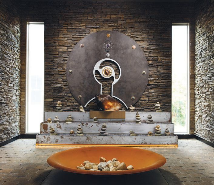 Zen pervades every room at the Miraval Resort & Spa in the Berkshires MIRAVAL RESORT & SPA PHOTO BY JAMES BAIGRIE/COURTESY OF BRAND