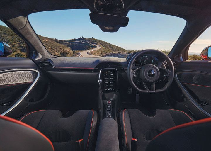 The interior boasts an all-new infotainment and connectivity system with two high-definition screens. PHOTO COURTESY OF BRAND