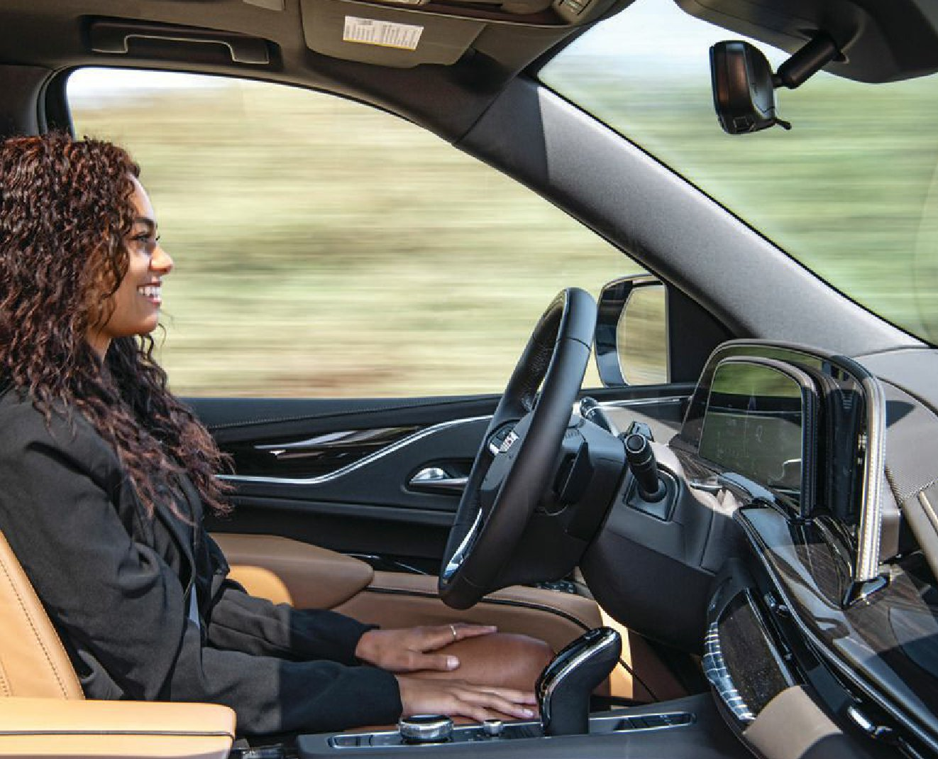 Enhanced Super Cruise allows for truly hands-free driving PHOTO COURTESY OF CADILLAC