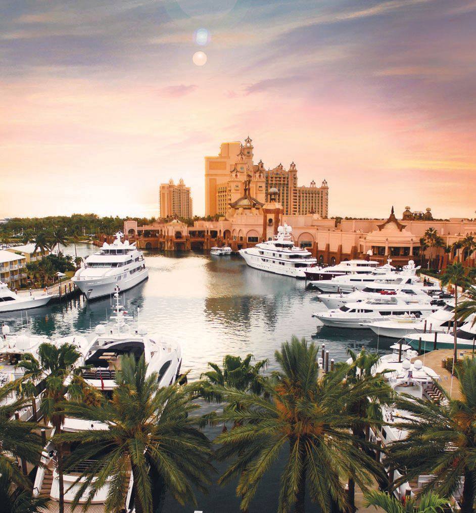 Atlantis, Paradise Island's marina can accommodate vessels up to 240 feet TIMBERS KAUA'I AT HOKUALA