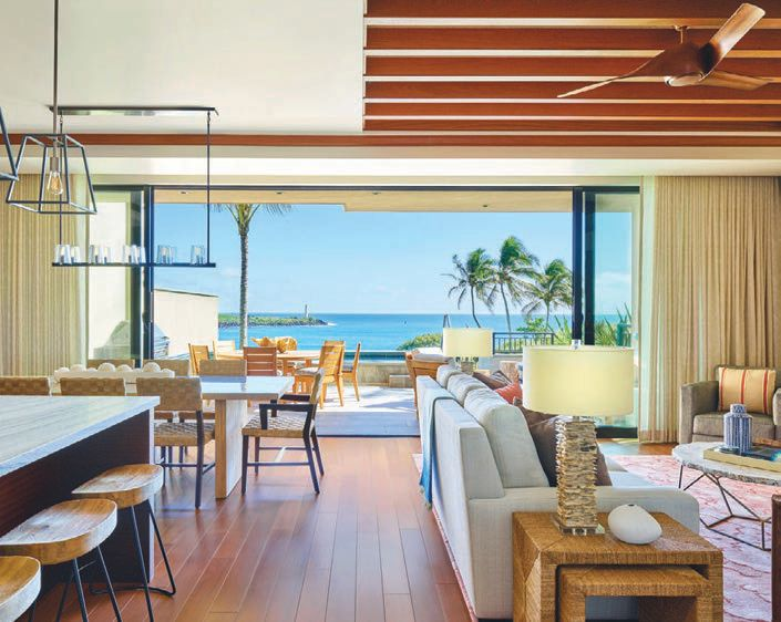 while the oceanfront residences at Timbers Kaua'i at Hokuala are stunning, activities like lei-making, chocolate tastings with Kaua'i-based Lydgate Farms and master poke classes with chef Zach Cummings give good reason to get out and about. ATLANTIS, PARADISE ISLAND
