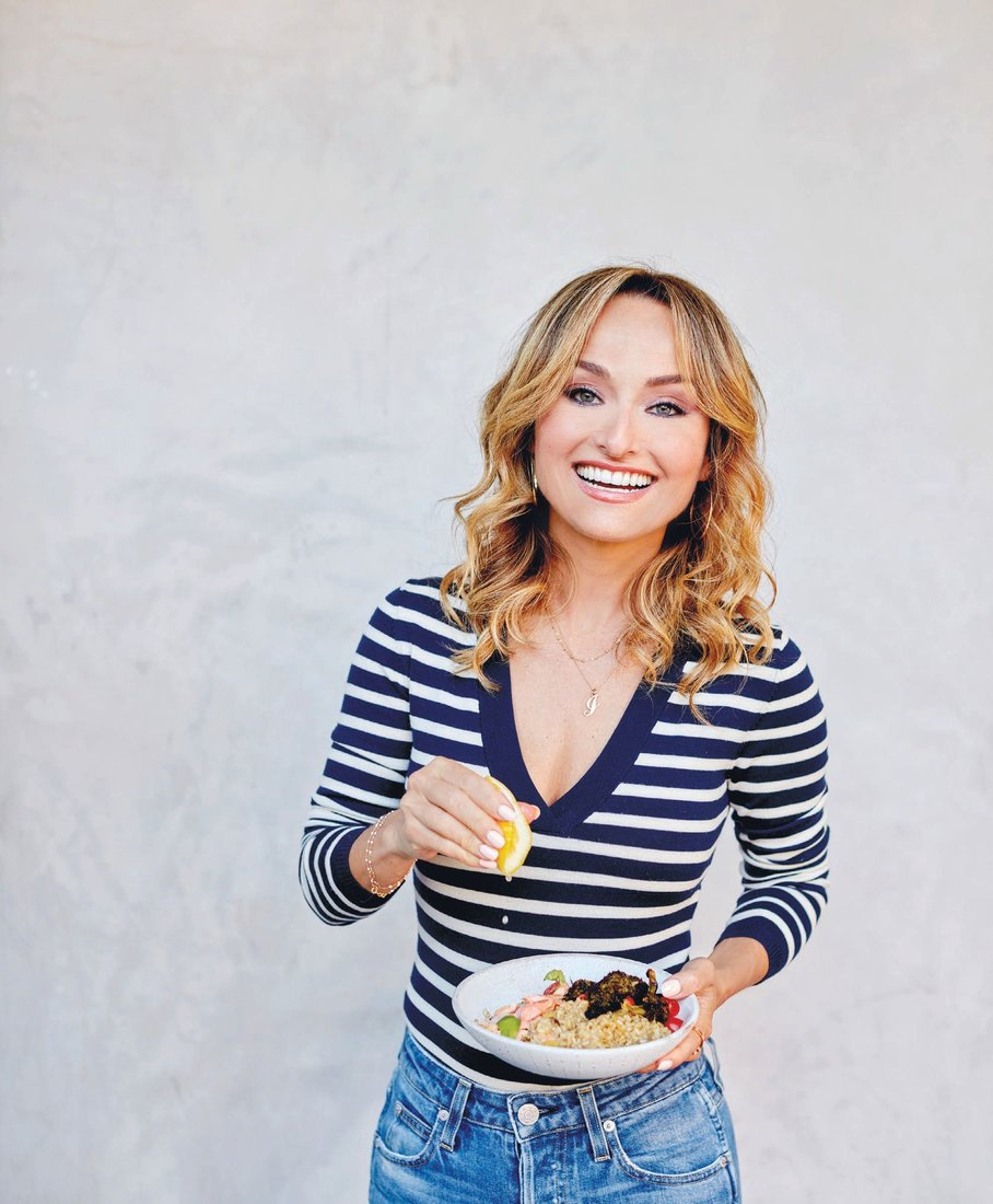 Star chef Giada De Laurentiis has authored nine New York Times bestselling cookbooks. RECIPE COURTESY OF EAT BETTER, FEEL BETTER BY GIADA DE LAURENTIIS; COPYRIGHT © 2021 BY GDL FOODS INC.; PUBLISHED BY RODALE BOOKS, AN IMPRINT OF RANDOM HOUSE, A DIVISION OF PENGUIN RANDOM HOUSE LLC