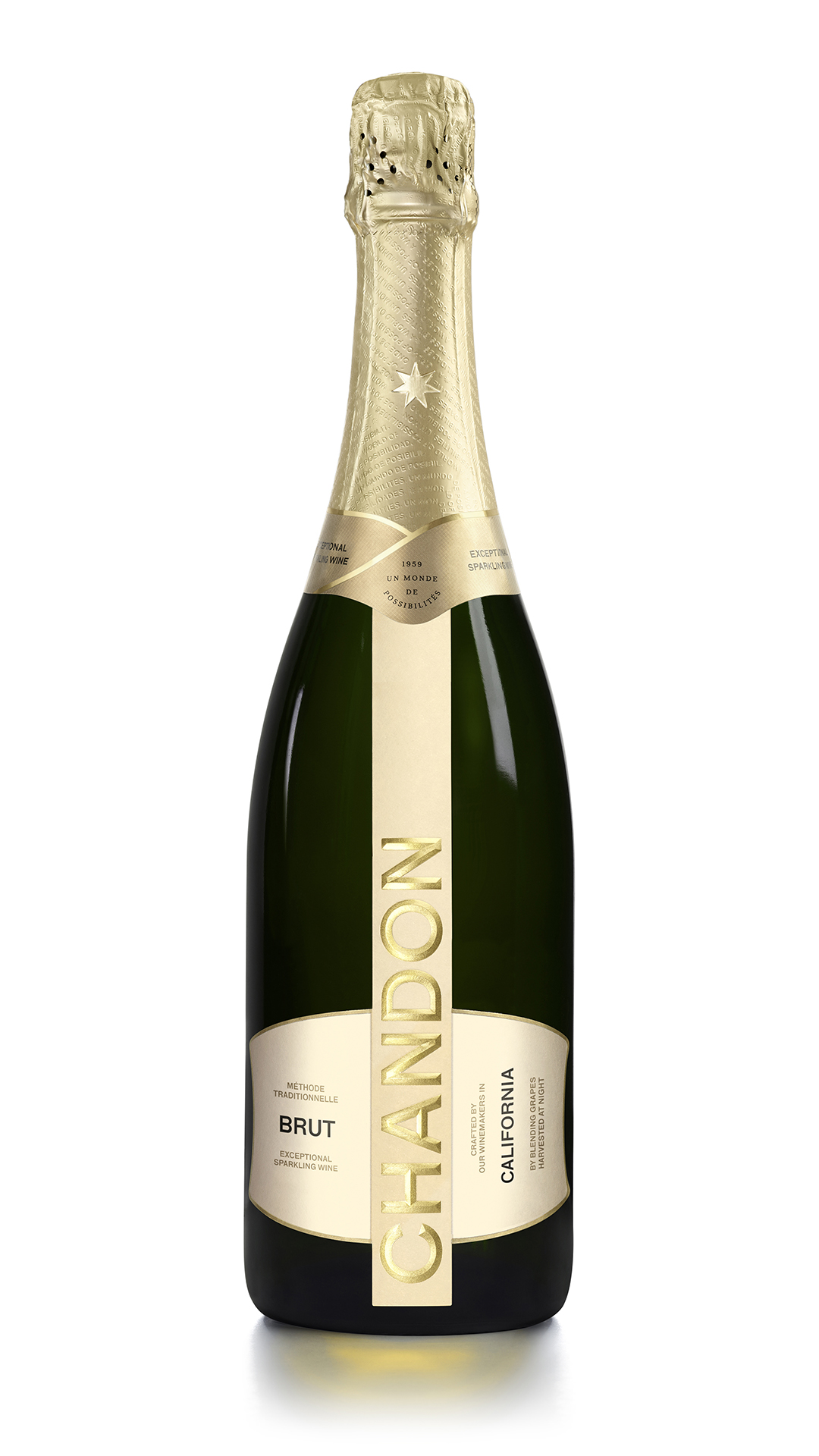 Chandon Brut new bottle 2021
