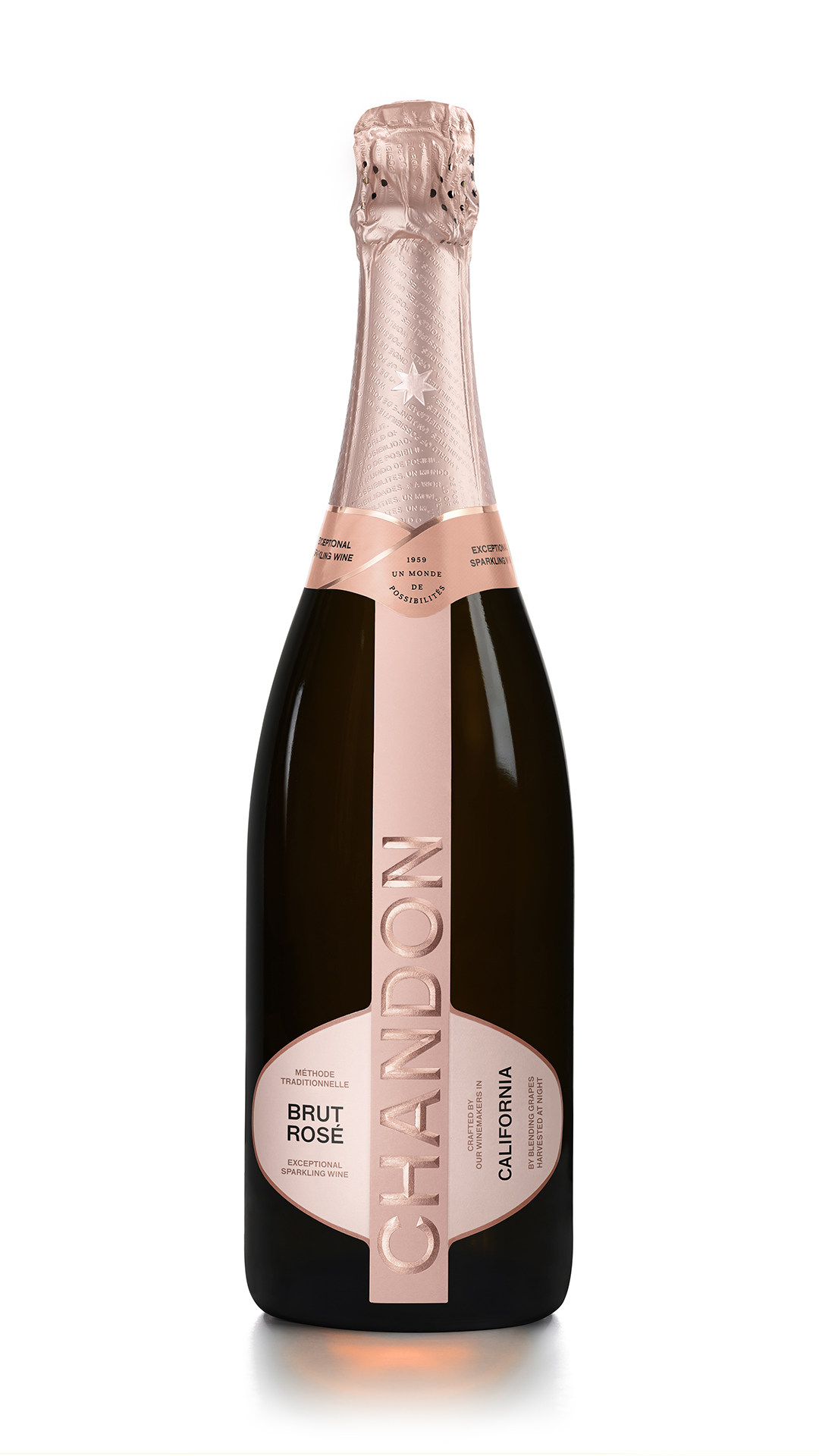 Chandon Rose new bottle 2021