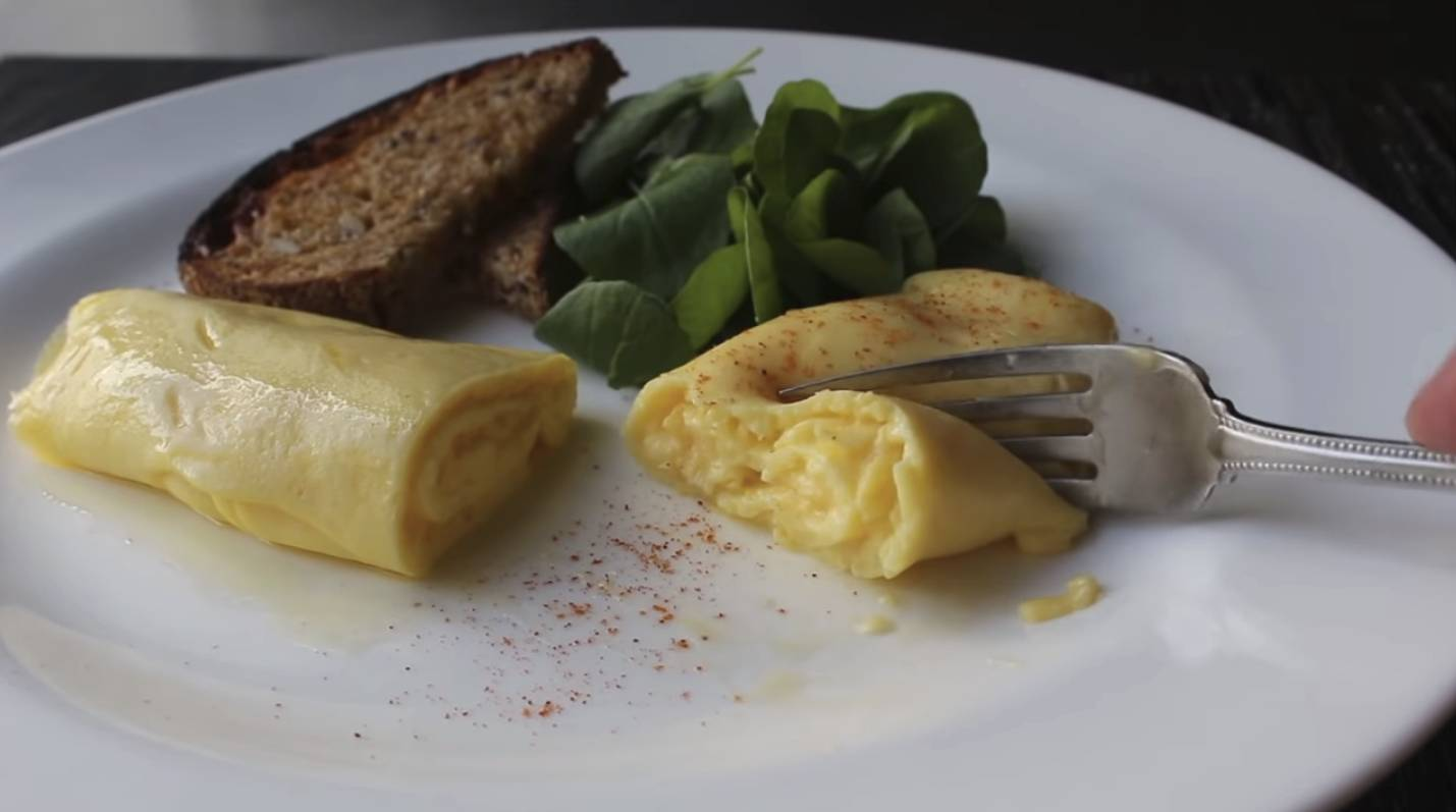 Chef John's perfect French omelette