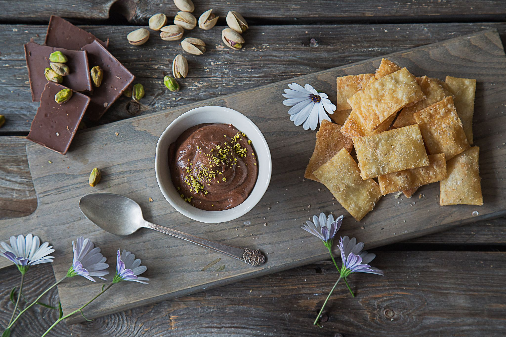 Chef Loay Alhindi's Chocolate Hummus