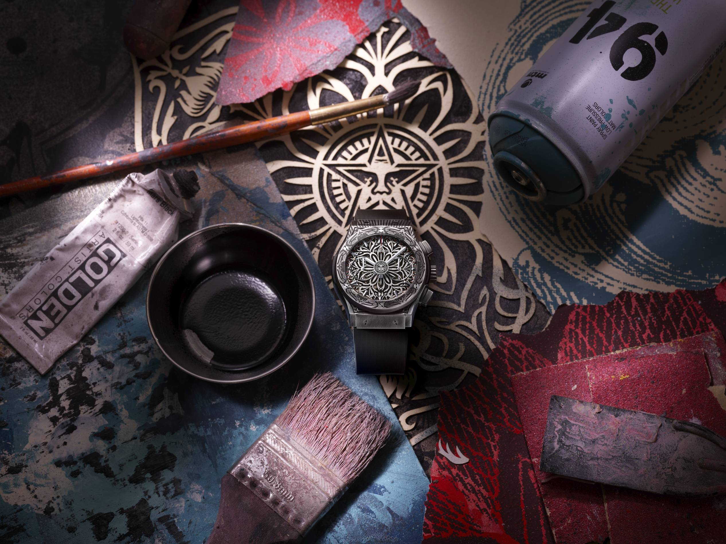 Hublot Shepard Fairey collaboration