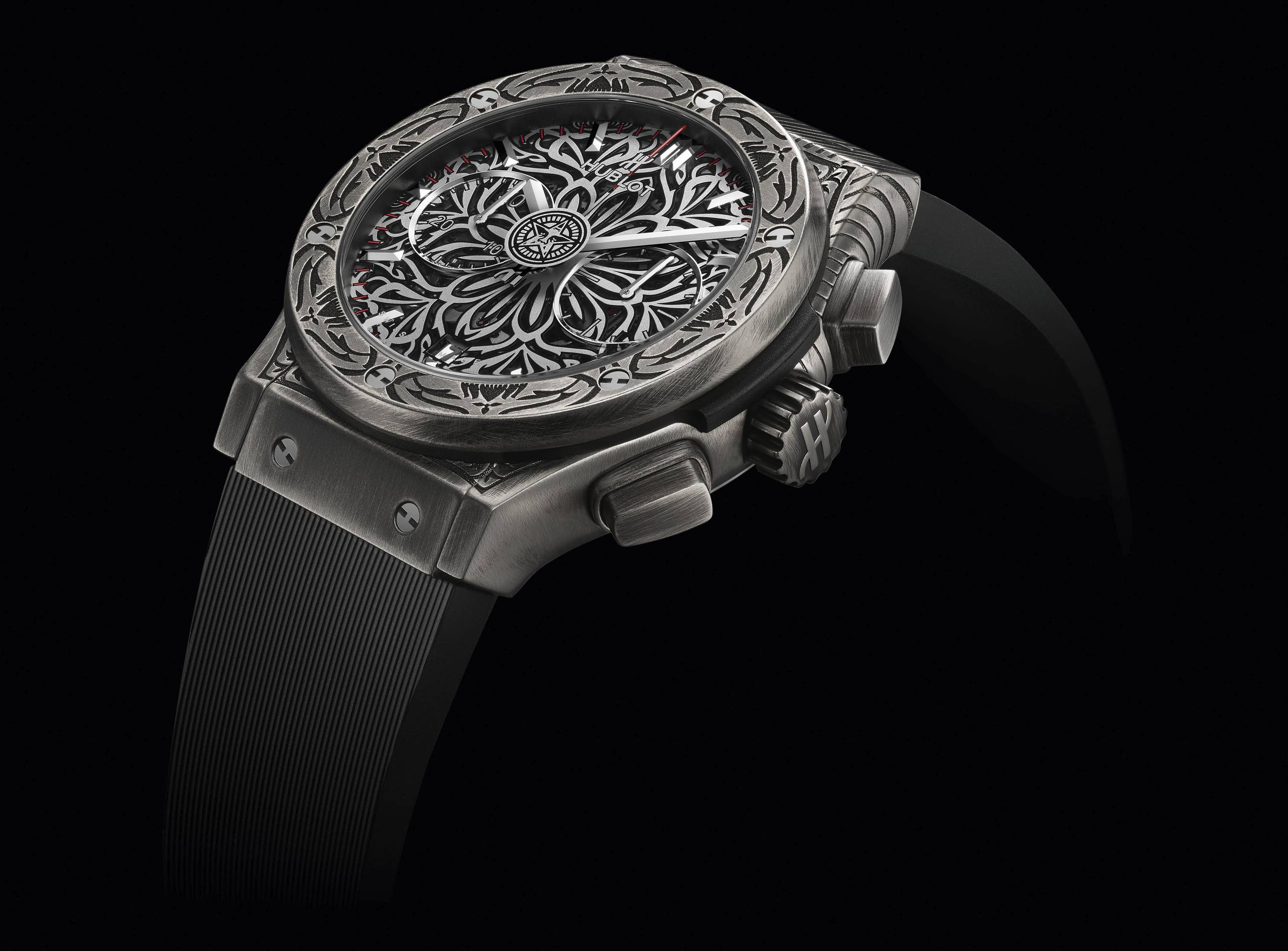 Hublot Shepard Fairey watch collaboration
