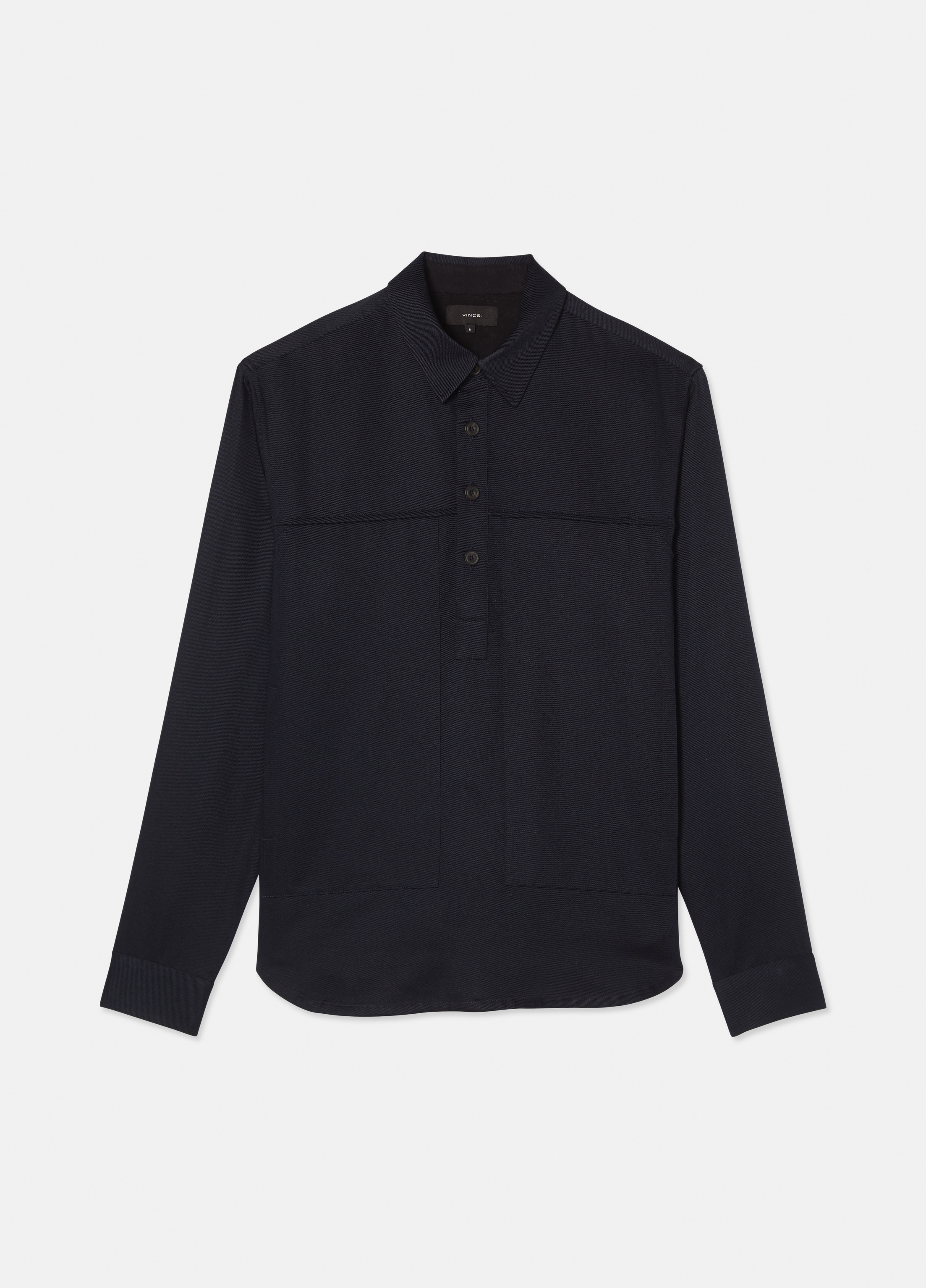 Vince cotton twill pullover