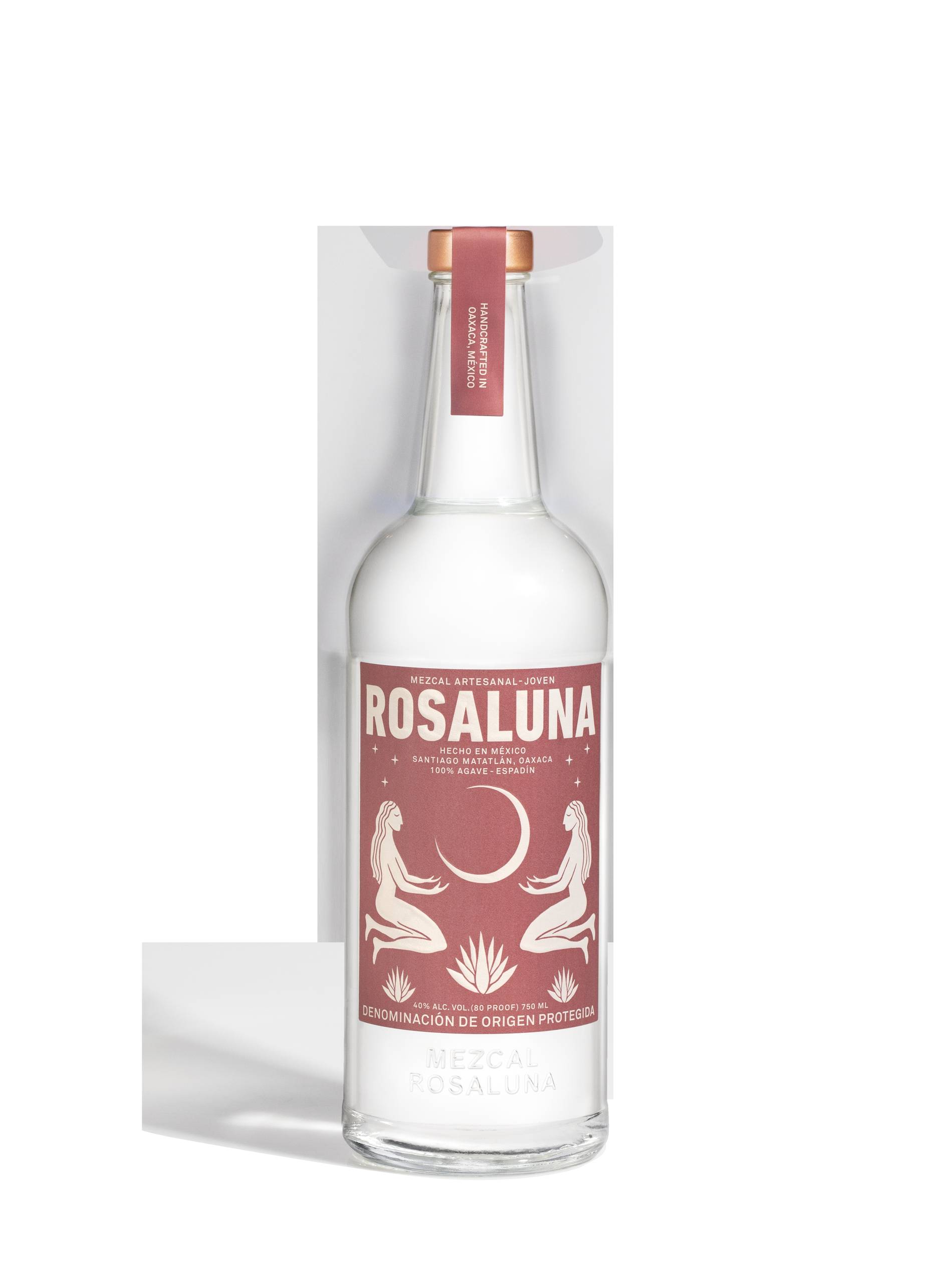 rosaluna mezcal bottle