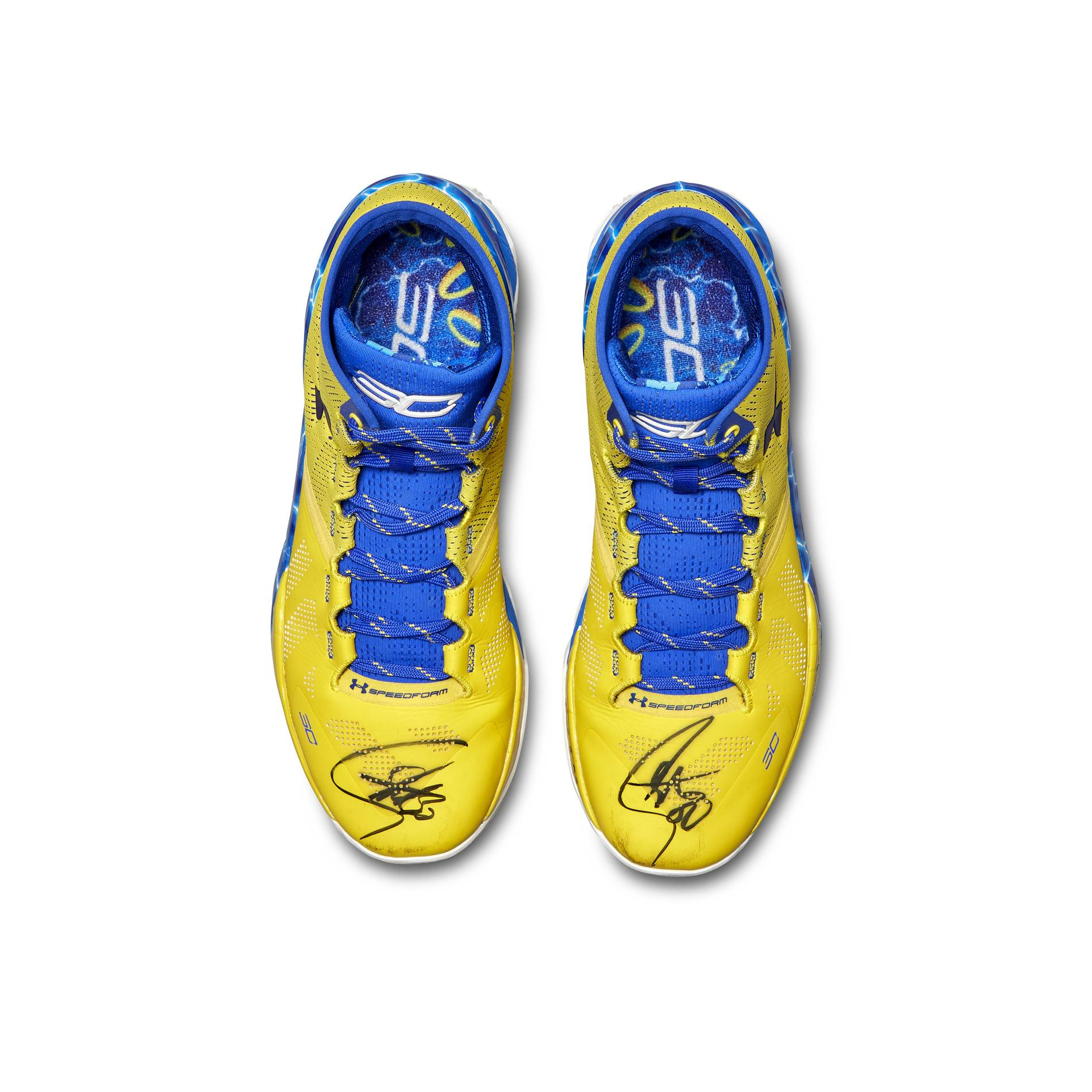 steph curry sothebys signed