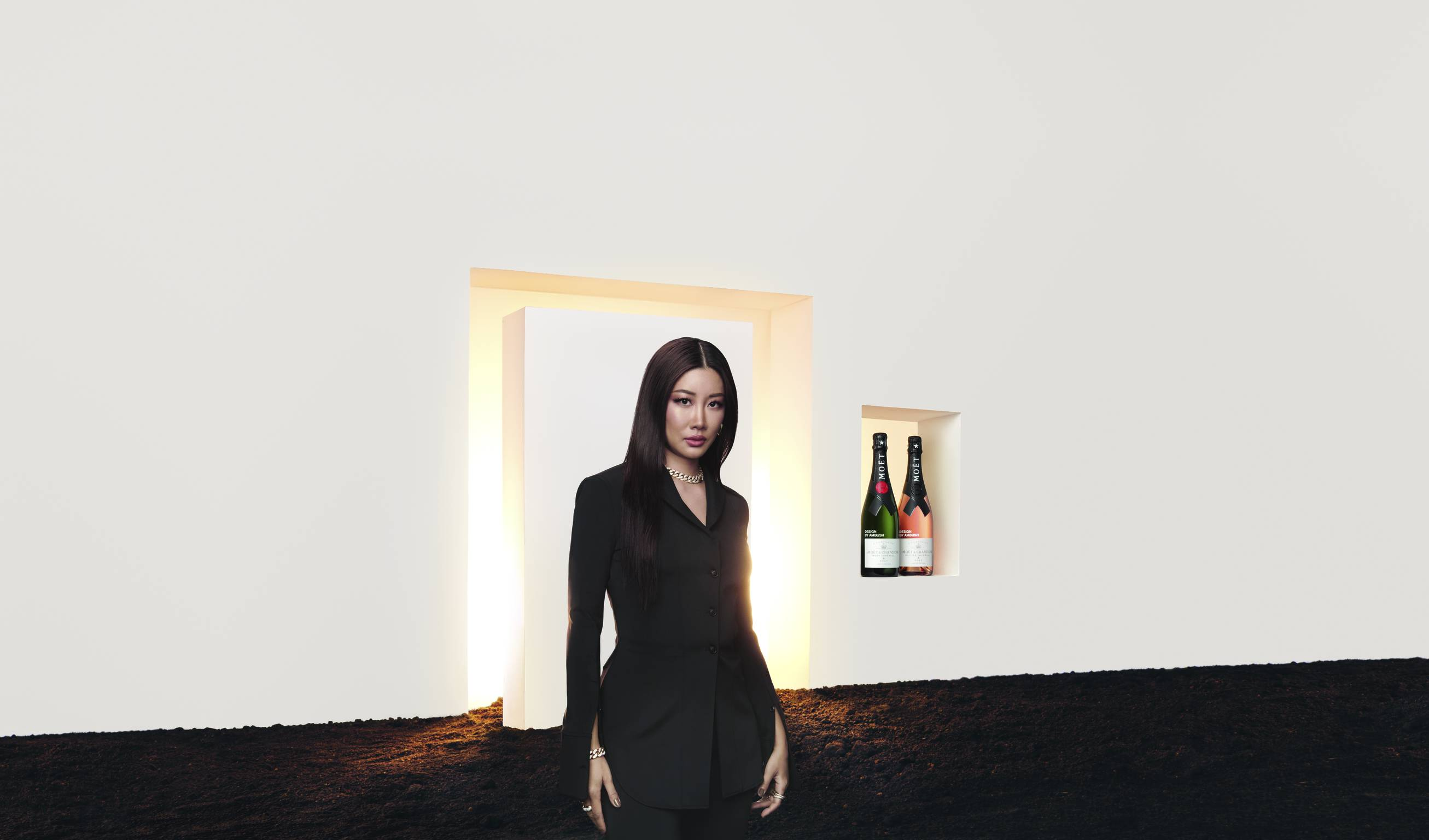 Yoon Ahn and Moet & Chandon